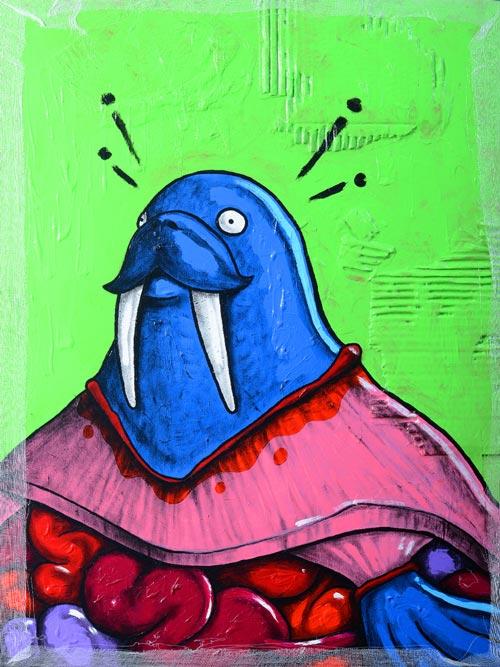 handmade Material Animals - Walrus