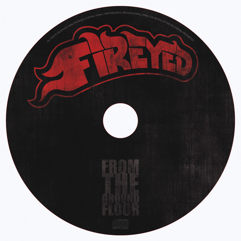 Fireyed CD Music Packaging