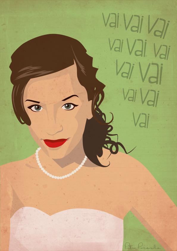 Vittoria's portrait
